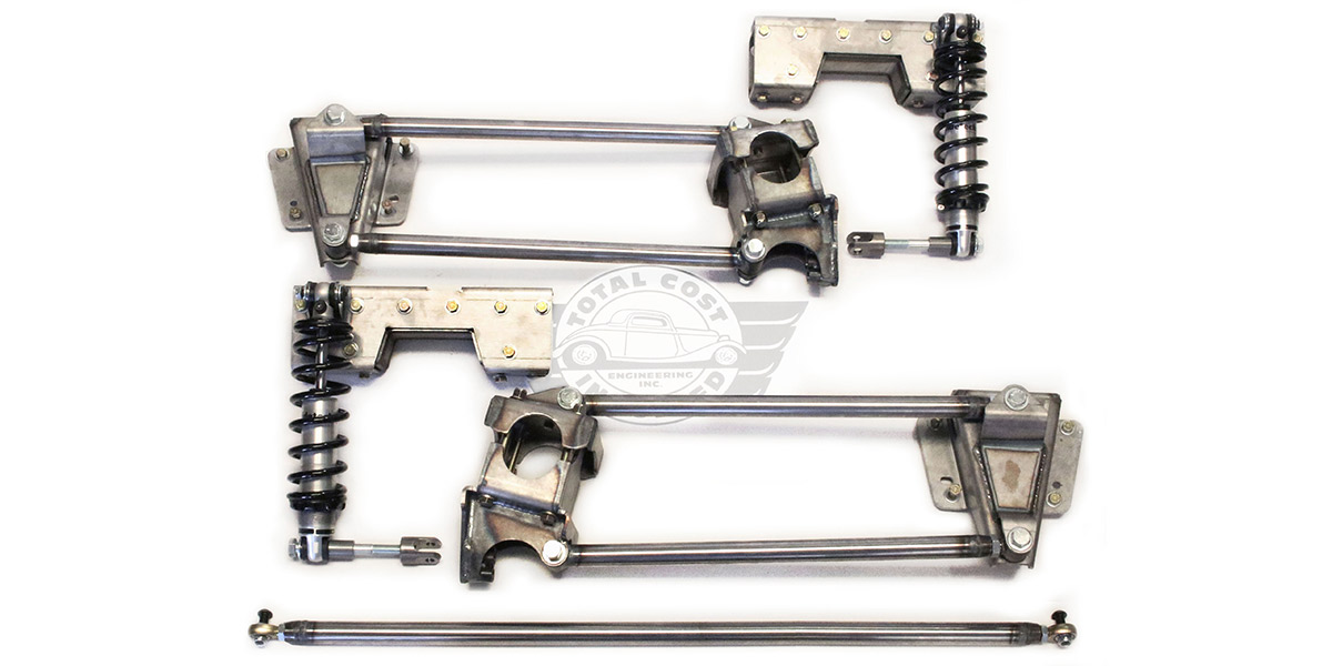 1973-1987 Chevy C10 Truck 4-Link Rear Suspension