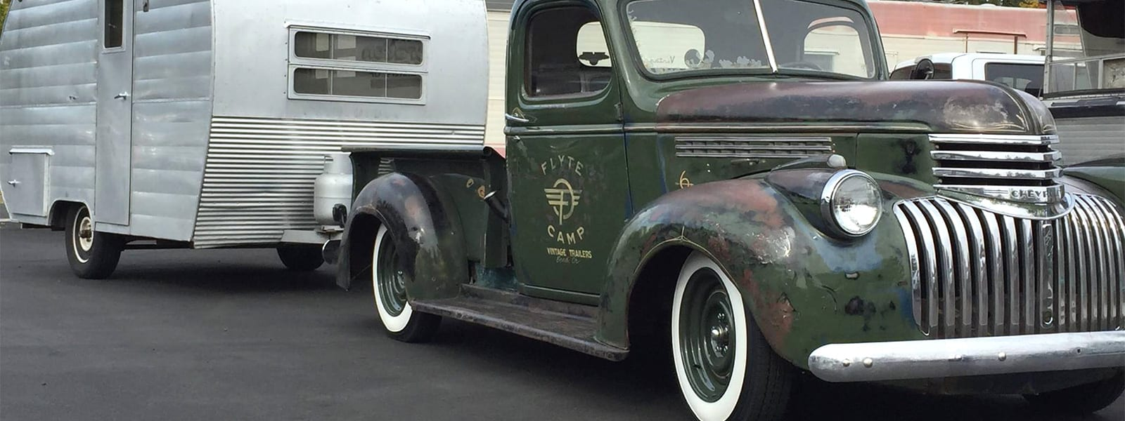 1946 Chevy pickup Flippin RV's
